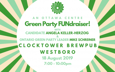 Sunday, Aug 18, 7pm – Green Fundraiser with AKH and Mike Schreiner!