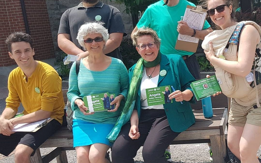 October 16 to 20 – Foot Canvassing With Angela