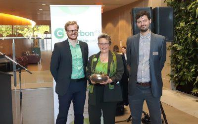 Carbon 613 honors Ottawa Centre Green Party Candidate Angela Keller-Herzog with Trailblazer Award