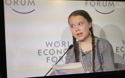 """Greta Thunberg – """"The house is on fire"""""""